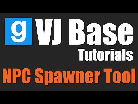 VJ Base Tutorials - NPC Spawner Tool