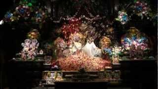 Flower Arati - Radhastami - Sri Sri Radha Kalachandji, Dallas, 2012