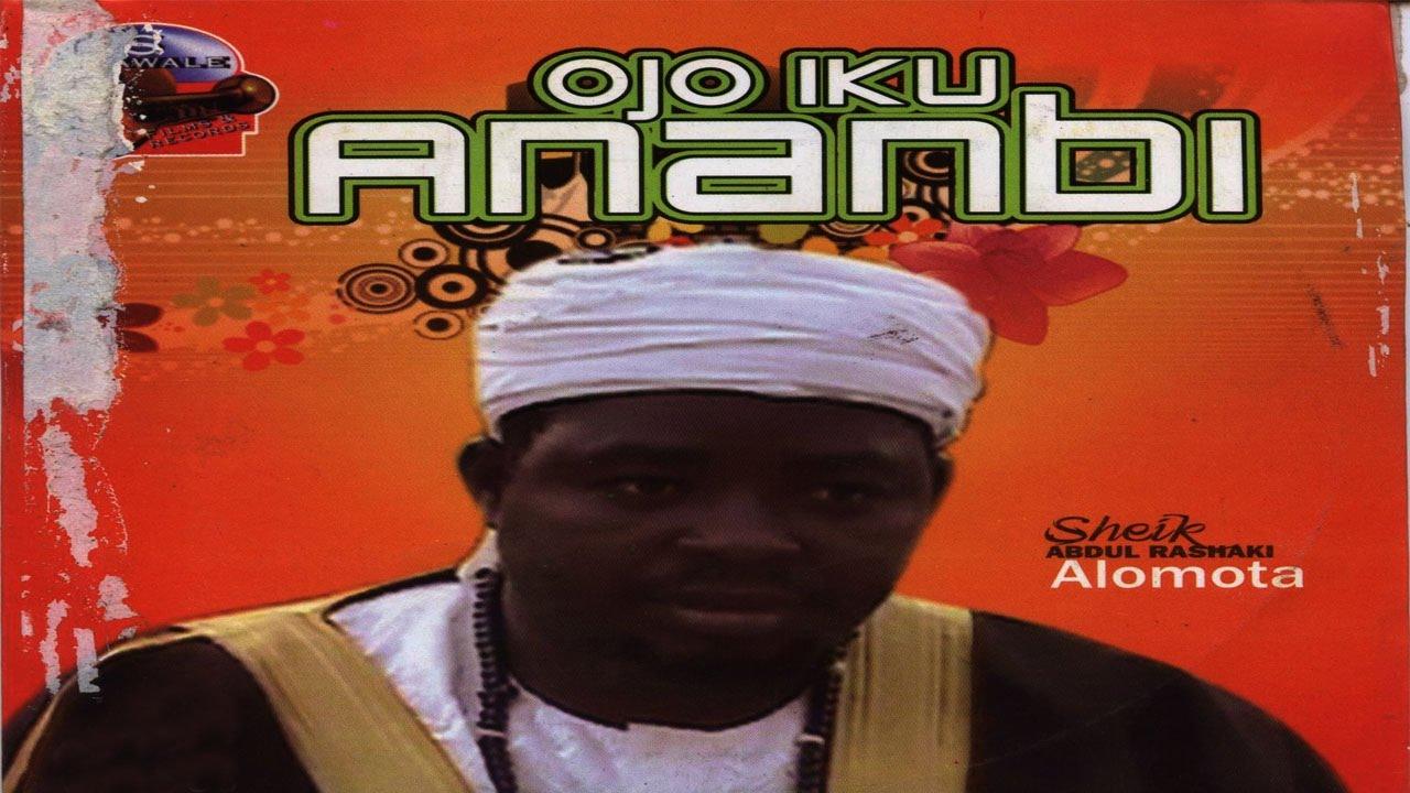 Download OJO IKU ANOBI -  Sheikh Abdul Rasaq Alomota