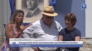 Inauguración de la casa de Wilson en Nico Pérez