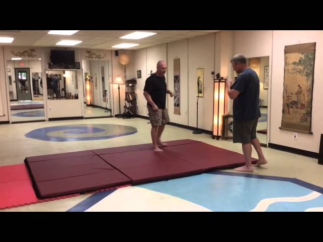 Folding Throw Application of TaiJi and BaGua