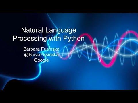 Introduction to Natural Language Processing with Python – Barbara Fusinska