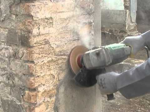 How To Sand Brick Wall With Dokoyoh Grinding Wheel Ghines