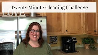 Twenty Minute Cleaning Challenge | Cleaning Motivation