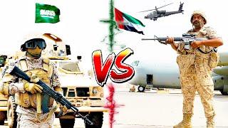 САУДОВСКАЯ АРАВИЯ vs ОАЭ ⭐ СРАВНЕНИЕ АРМИИ ⭐ Saudi Arabian Army VS UAE Armed Forces