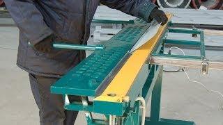 Ручной магнитный листогиб ЛГМ-35(Ручной листогиб ЛГМ-35 используется для качественного и точного изготовления изделий из тонколистового..., 2014-06-05T11:46:02.000Z)