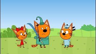 Три кота | Игра в молчанку | Серия 49 | Мультфильмы для детей
