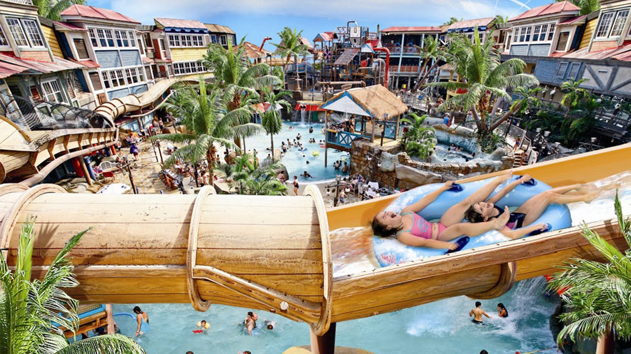 The Top 5 Uk Water Parks Youtube