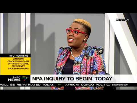 NPA inquiry to begin today in Pretoria