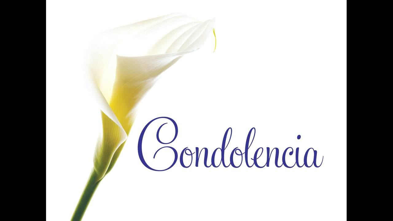 Pesame Imagenes Condolencias De Y