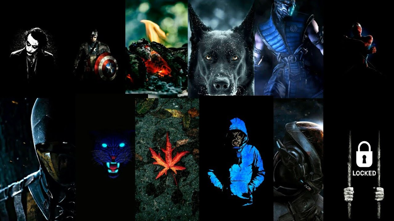 Dark Wallpapers For Amoled Android Device 1080p Youtube
