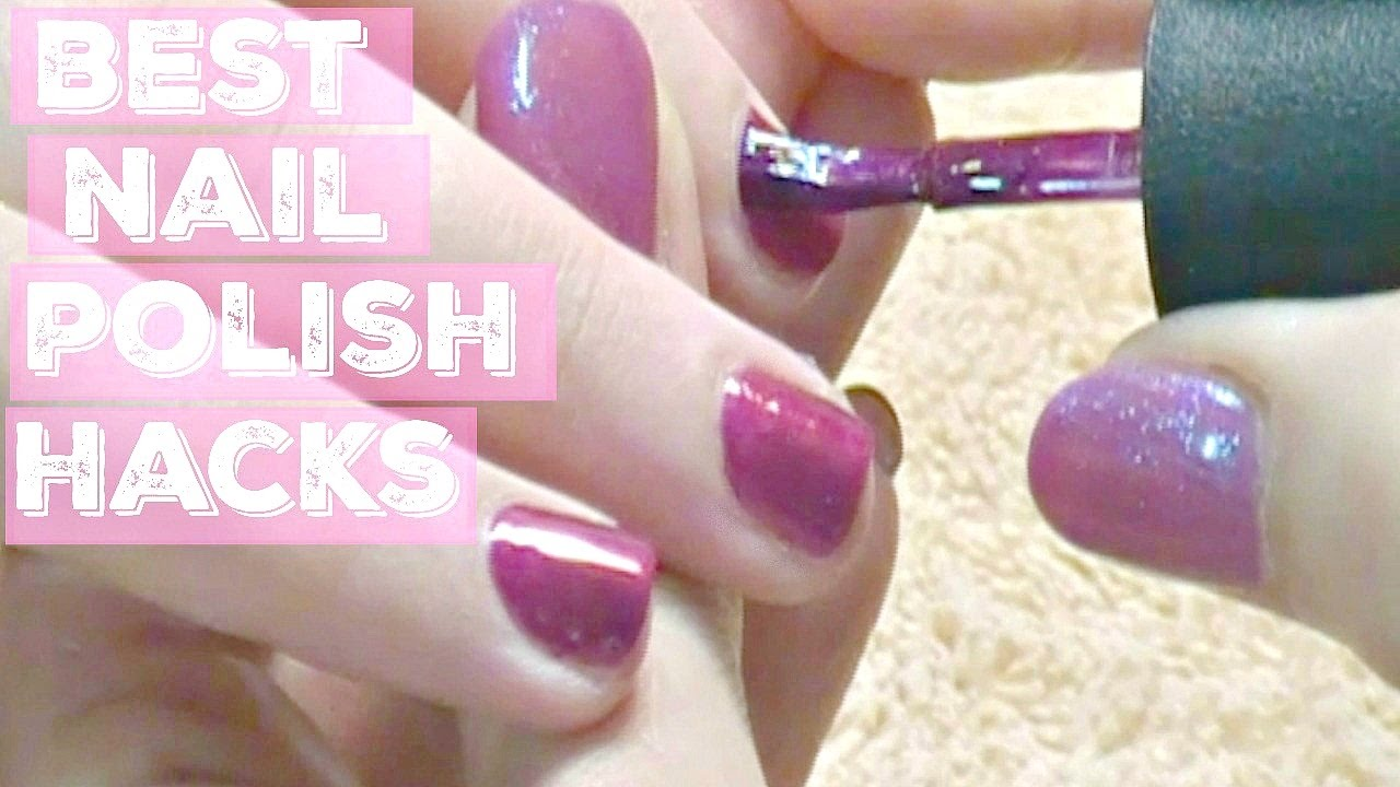 💅How to Polish (Not Paint) Your Nails with NO CHIPPING Tutorial ...