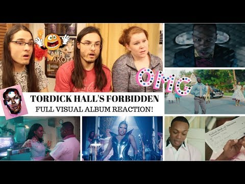 FORBIDDEN BY TODRICK HALL  I VISUAL ALBUM REACTION! // TWIN WORLD
