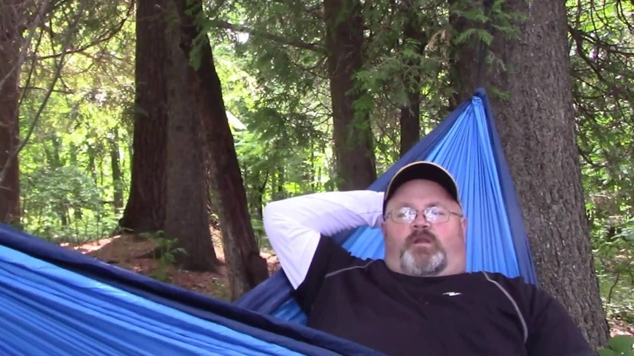 how to set up eno hammock