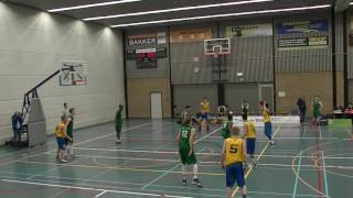 11 february 2017 Rivertrotters U22 vs Cady U22 61-58 3rd period