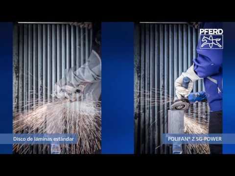 El nuevo POLIFAN Z SG-POWER - ¡Mayor desbaste sin cambiar de herramienta!