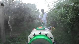Joyfruit self propelled orchard sprayer02