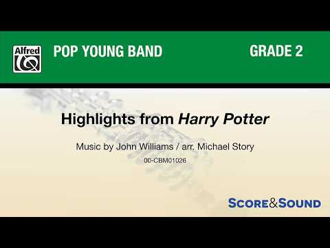 Highlights from Harry Potter, arr. Michael Story – Score & Sound
