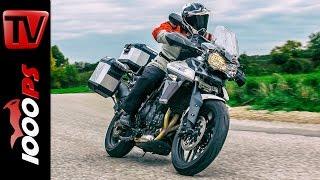 Triumph Tiger 800 XRx - 1000PS Dauertest Abschluss 2015