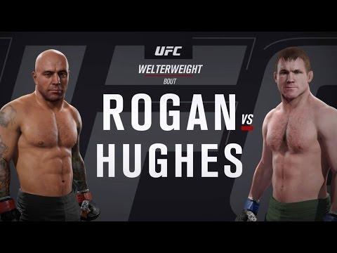 EA SPORTS UFC 2 - Joe Rogan vs Matt Hughes