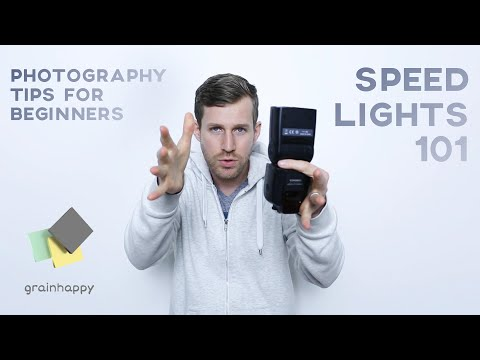 Photography Tips For Beginners - Speedlight Photography Techniques 101