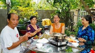 Ăn lẩu mắm ở nhà dì Trúc | Món Ngon Mẹ Nấu