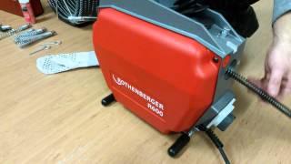 Čistička potrubia R 600 značky Rothenbeger pre profesionálne krtkovanie.