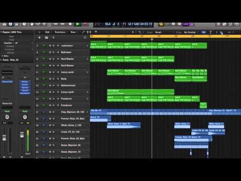Logic Pro X - Progressive Electro Music