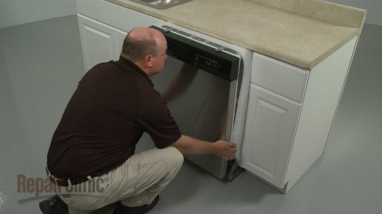 Whirlpool Dishwasher Removal And Installation Youtube