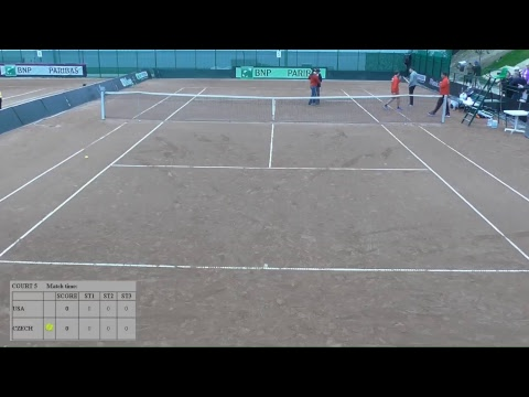 Junior Davis Cup by BNP Paribas Finals - Court 5 FINAL (CZE vs USA)