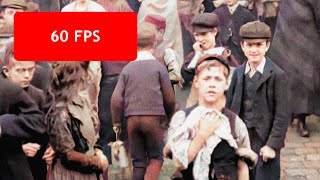 [60 fps] Laborers in Victorian England, 1901