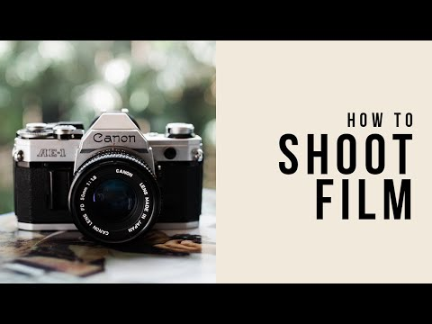HOW TO SHOOT FILM - Canon Ae-1 & Portra 400