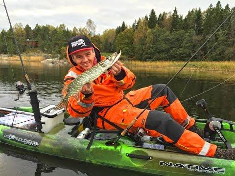 рыбалка на каяке отчет