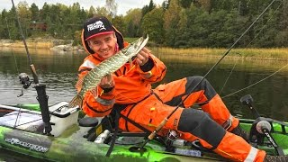 видео рыбалка с каяка