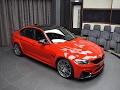 BMW M3 Looks Amazing Wearing Ferrari Red Paint