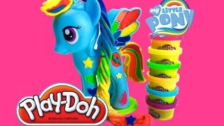 Лепим из пластилина Плей до Радугу Дэш Play Doh Rainbow Dash My Little Pony Мой Маленький Пони(, 2015-02-01T03:00:49.000Z)