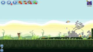 angry birds   poached eggs level 41 2 20 3 star tutorial