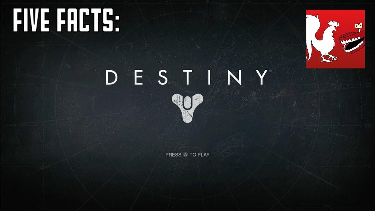 Worksheet Destiny Facts five facts destiny youtube destiny