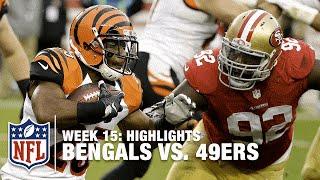 Bengals vs. 49ers   Week 15 Highlights   NFL