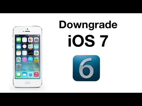 How to Downgrade From iOS 7 Beta 1 to iOS 6.1.3