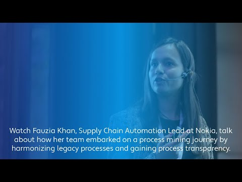Value Of Process Mining In Supply Chain | Interview With Fauzia Khan From Nokia