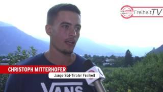 Videobericht vom ersten Landesjugendtreff der Süd-Tiroler Freiheit