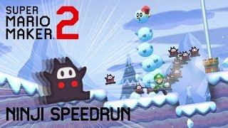NINJI SPEEDRUN FAILURE [Mario Maker 2]