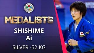 SHISHIME Ai Silver medal Judo Doha Masters 2021