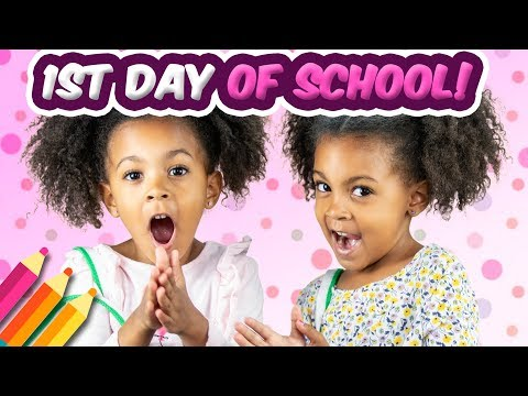 TWINS FIRST DAY OF SCHOOL in APRIL?!