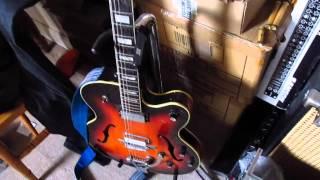 Noisy Ibanez PM7 Phase Modulator pedal