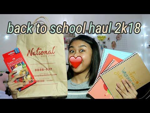 Back To School Haul (late upload)    Shane Garde