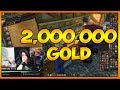 2,000,000 Gold Mailed To Us Reaction - World Of Warcraft BFA Pre-Patch 8.0.1 (WoW)