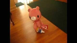 Gloomy Bear Walking Plushie: Pink