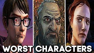 Top 10 Worst Characters: The Walking Dead: All Seasons (Telltale)